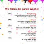 Geburtstagsprogramm