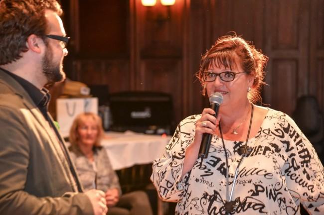 Gastgeberin Sabine Pausch