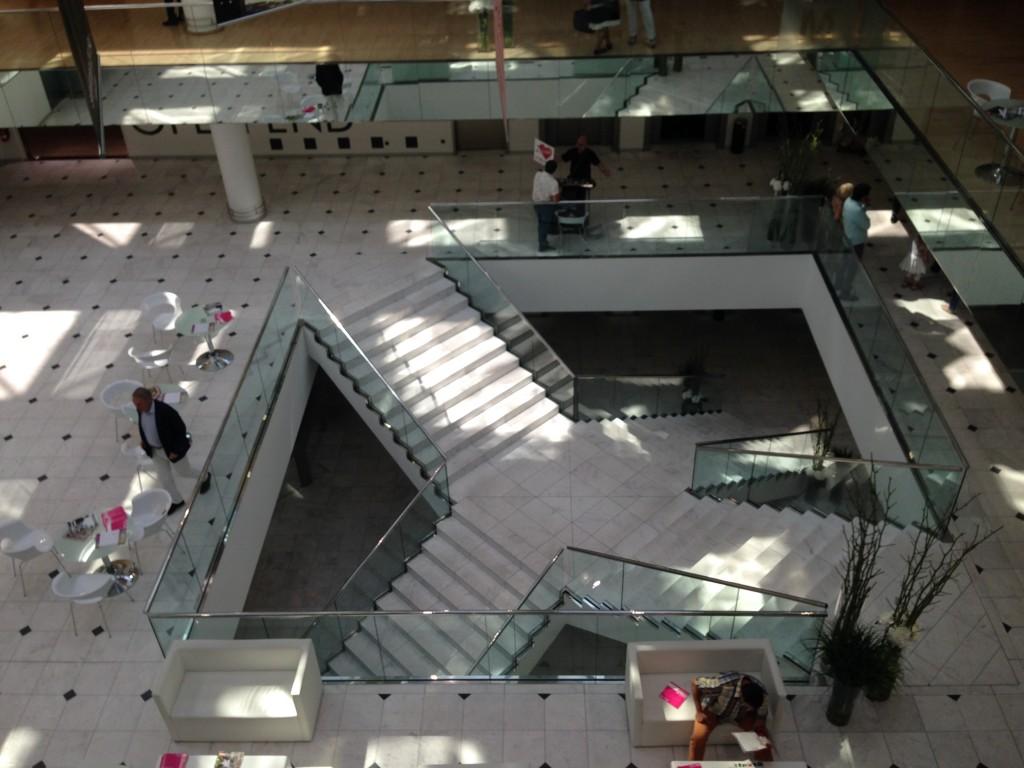 Blick ins Atrium