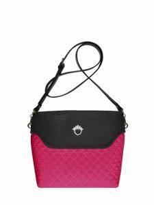 Flowerbag Umhang pink