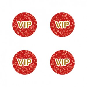 VIP Aufkleber