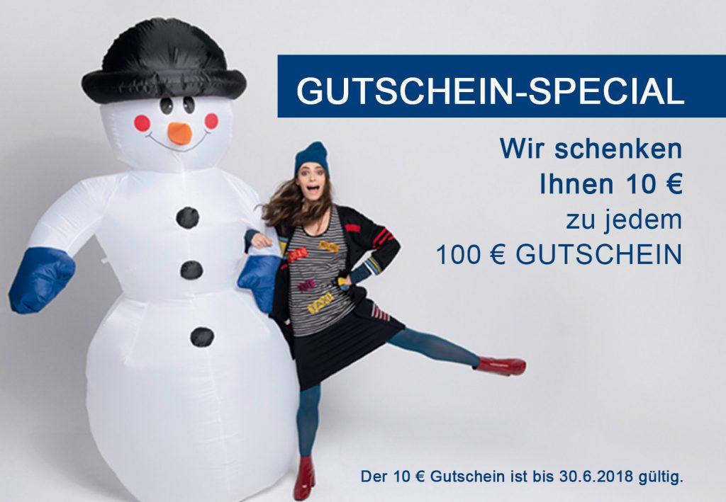 Gutschein-Special