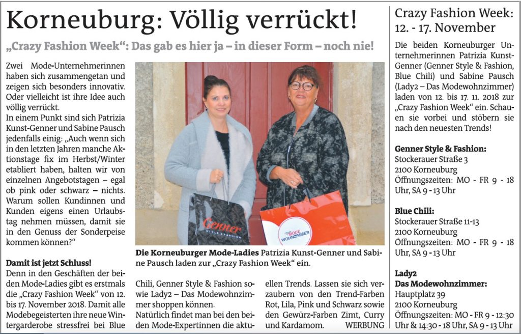 CFW Bezirksblatt